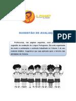 SUGESTÃO DE PROVA - Português 5-3 (1)