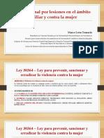 Proceso penal por lesiones en el ámbito familiar y contra la mujer.pptx