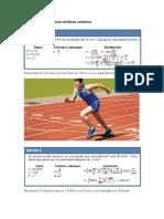 Ejemplos de movimiento rectilíneo uniforme