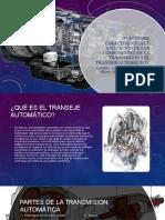 funciones, características y aplicación de las puezas de tranmisión automatica
