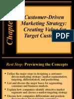 customer-driven mktg strat.