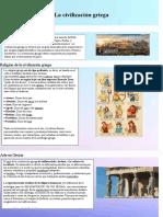 Infografia de la mitoogia griegas