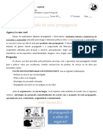 APRESENTAÇÃO ORAL - Propaganda 2