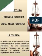 CIENCIA POLITICA- CLASE 2