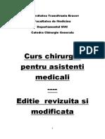 curs chirurgie pentru studenti - carte