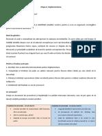 Design Thinking - etapa 6 (implementare)