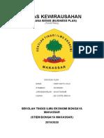 HARIYANTO JOLO (201830061) TUGAS FINAL KEWIRAUSAHAN
