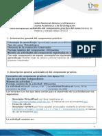 Guía para el desarrollo del componente práctico-Unidad 1,2 y 3 - Fase 5 - Componente práctico