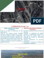 1. Semana UNO-CAMINOS II (TV 616 – G)-2020-I.pptx