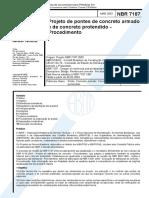 NBR 7187 - 2003 - Projeto de Pontes de Concreto Armado e de Concreto Prontendido - Procedimento