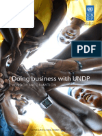 Doing business with UNDP Sept 2016 FINAL