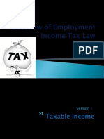 Overview of Employment Income Tax -