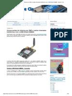 Acione portas do Arduino por SMS e realize chamadas telefônicas com o GSM Shield SIM900 - Arduino e Cia
