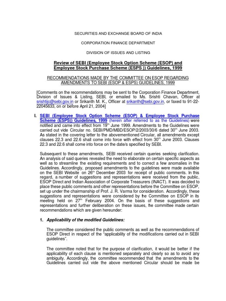 Esopesps Employee Stock Ownership Plan Board Of Directors