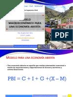 Semana 16 Modelo macroeconomico para una economia abierta