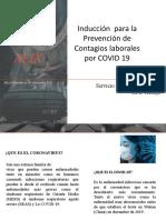 2.1 Programa de induccion COVID 19 para Jefes y Supervisores