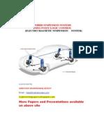 Hybrid Suspension Systems Using Fuzzy Logic Control