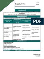 DE - EV - 7. ano - Critrios de avaliao - 20182019
