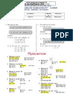 6TO PRIMARIA - ÁLGEBRA - PRODUCTOS NOTABLES III