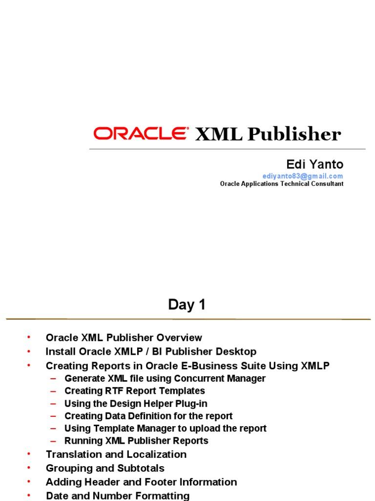 Groß Rtf Vorlagen Xml Publisher Galerie - Entry Level Resume ...