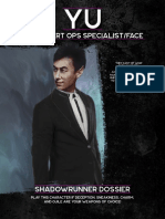 shadowrun 6e - beginner box - dossier - yu