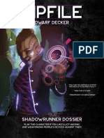 shadowrun 6e - beginner box - dossier - zipfile