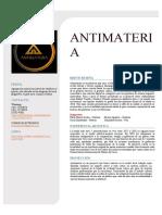 ANTIMATERIA presentación