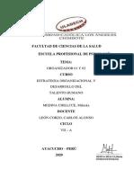 ORGANIZADOR DE LA SEMANA 1 Y 2