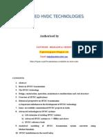 Advanced Hvdc Technologies