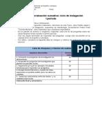 Evaluación sumativa I período