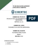 PROYECTO FINAL FUNDAMENTOS DE GESTIÓN EMPRESARIAL BIOCLEAN_PROYECTO FINAL DE FUNDAMENTOS DE GESTION EMPRESARIAL BIOCLEAN (1).docx