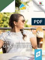 Ferienregion Stiftland - Ihre Gastgeber 2021