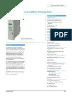 Catalogo 7SJ602 Rele multifuncion