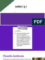 Istoria filosofiei 5