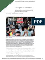 L'image de la Chine est «négative»en France, à droite comme à gauche