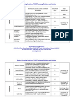 PDMS Training Modules and Guides