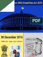 RPWD ACT 2016