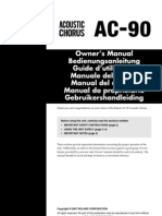AC-90 Owner's Manual