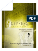 1-Cypress Industries Consolidated Presentation 2018-01