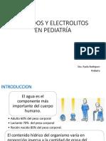 5 LIQUIDOS Y ELECTROLITOS EN PEDIATRIA