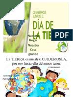DIA DE LA TIERRA 22 DE ABRIL KELLY