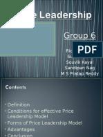 Price Leadership Final