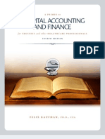 Primer On Hospital Accounting and Finance, 4th Edition
