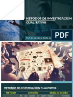 PRESENTACIÓN - Métodos de Investigación Cualitativa