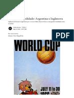 1966-Nasce uma rivalidade_ Argentina x Inglaterra