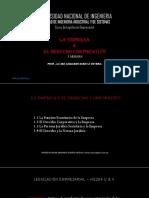 HS204 - 1ra Semana - Empresa & Derecho Corporativo