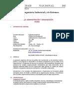 SILABO A y O DANIEL MORILLO 2020-2