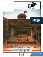 Cuentos basados en el teatro de Shakespeare - Charles Lamb