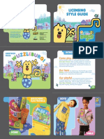 Wow! Wow! Wubbzy! Style Guide
