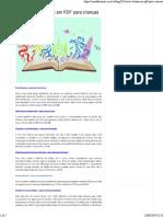 0 - 10 livros virtuais em PDF para crianças